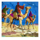 The Men God Guided to Jesus Giclee Print by Clive Uptton