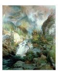 Children of the Mountain, 1866 Giclee Print by  Moran