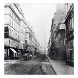 Rue De La Chaussee-D'Antin, Paris, 1858-78 Giclee Print by Charles Marville