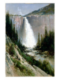 Bridal Veil Falls, Yosemite Giclee Print by Thomas Hill