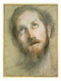 Study for the Head of Christ Giclee Print by Federico Barocci