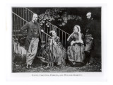 Dante, Christina, Frances and William Rossetti Giclee Print by  English Photographer