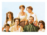 Tsar Nicholas Ii with This Family Giclee Print by Richard Hook