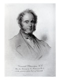 Viscount Palmerston, Engraved by Emery Walker Giclee Print by George Richmond