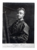 Self Portrait, Engraved by John Faber, 1735 Giclee Print by Mercier 