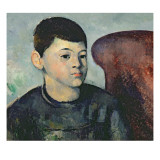 Portrait of the Artist's Son, 1881-82 Giclee Print by Paul Cézanne
