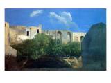 Ruined Buildings Near Naples, C.1782 Giclee Print by Thomas Jones