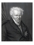 Alexander Von Humboldt, Engraved by C. Cook Giclee Print by Emma Gaggiotti Richards