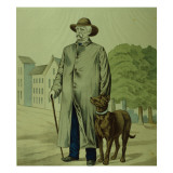 Prince Otto Von Bismarck in Friedrichsruh Giclee Print by  German School