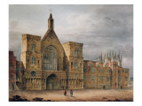 Entrance to Westminster Hall, 1807 Giclee Print by John Coney