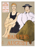 Cover of 'Harper's Magazine', 1896 Giclee Print by Penfield