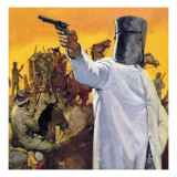 Ned Kelly, the Australian Robin Hood Giclee Print by  English School