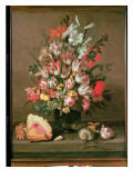 Tulips, Lilies, Irises and Roses Giclee Print by Anthony I Claesz