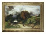 Windy Hilltop, Amagansett, Long Island, 1901 Premium Giclee Print by  Moran