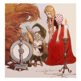 The Story of Rumpelstiltskin Giclee Print by Jesus Blasco