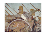 Darius Iii, from 'The Alexander Mosaic' Premium Giclee Print by  Roman
