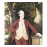 Portrait of Richard Crofts of West Harling, Norfolk Reproduction procédé giclée par Joshua Reynolds