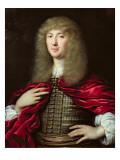 Portrait of Sir John Chardin Giclee Print by Pierre Mignard