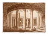 Santo Stefano Rotondo, 1833 Giclee Print by Agostino Tofanelli