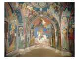 View of the Narthex, 1332-3 Giclee Print by  Byzantine