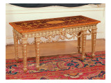 Side Table with Inlaid Rosewood Top, C.1771 Giclee Print by Thomas Chippendale