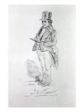 Joseph Mallord William Turner, 1844 Giclee Print by Charles Martin
