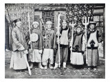 Chinese Soldiers of Kuldja, C.1890S Giclee Print by Chinese Photographer