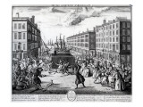 The View and Humours of Billingsgate, 1736 Giclee Print by Arnold van Haecken