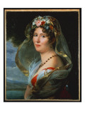Portrait of Constance Ossolinska Lubienska Giclee Print by Francois Pascal Simon, Baron Gerard