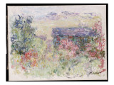The House Through the Roses, C.1925-26 Giclee Print by Claude Monet