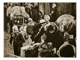 German Refugees after the War, 1945-50 Giclee Print