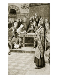 Jocelyn, Bishop of Glasgow, at Northampton, 1176 Giclee Print by William Henry Margetson