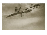 A Wonder to Behold - Aerobatics in 1914 Giclee Print by English Photographer