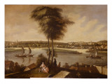 View of the Sanssouci Park from Brauhausberg, 1772 Giclee Print by Johann Friedrich Meyer