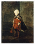Prince Augustus William Aged Four, 1734 Giclee Print by  Pesne