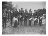 Henry Clay Drum Corps, 30th May 1889 Giclee Print by Pierre Gentieu
