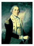 Portrait of George Washington Lmina gicle por James Peale