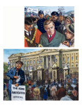 The Abdication Crisis, 1981 Giclee Print by Clive Uptton