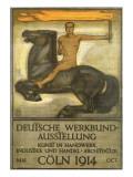 Deutsche Werkbund Austellung, Coln, 1914 Giclee Print by Peter Behrens