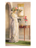 A Moment's Reflection, 1909 Giclee Print by William Henry Margetson