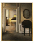 The Music Room, 30 Strandgade, C.1907 Giclee Print by Vilhelm Hammershoi
