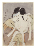 Portrait of the Actor Ichikawa Yaozo Iii Giclee Print by Toyokuni Utagawa