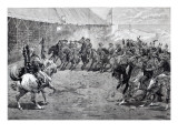 The Wild West Show at West Brompton, 1887 Giclee Print by John Charlton