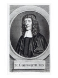 Ralph Cudworth, Engraved by George Vertue Giclee Print by David Loggan