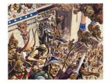 Destruction of Jerusalem, 587 Bc Giclee Print by Peter Jackson