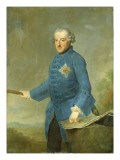 Frederick Ii the Great of Prussia, C.1770 Premium Giclee Print by Johann Georg Ziesenis