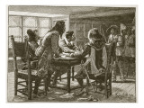 Arrest of the Conspirators at the Mermaid Giclee Print by William Barnes Wollen