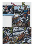 The Bravery of Prince Hal, Later King Henry V Giclee Print by Mike White