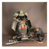 Samurai Armour, Muromachi Period Reproduction procédé giclée par Japanese School