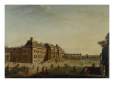 The Garden Front of the Town Castle, 1773 Giclee Print by Johann Friedrich Meyer